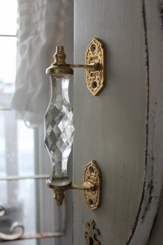 "Glass and Gold handle by ""WarmedbyLove"""